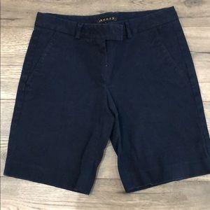 Theory navy Bermuda shorts